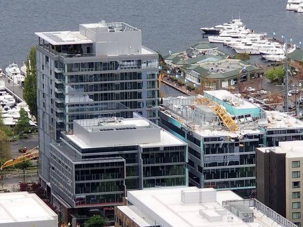 construction crane in Seattle