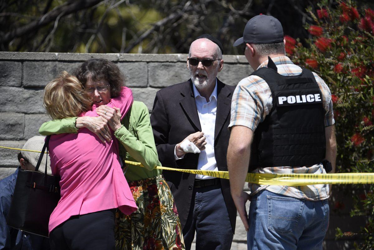 Synagogue Shooting-California