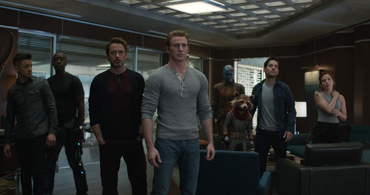 avengers-lots of them