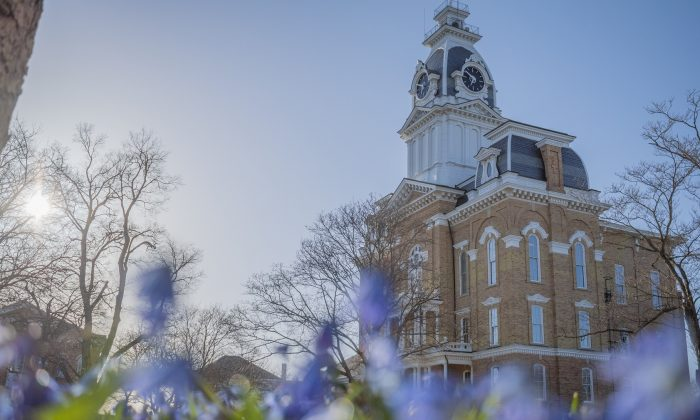 Hillsdale College's Central Hall. (Courtesy Hillsdale College)