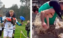 Hilarious Moments of the Wife Carrying Championship