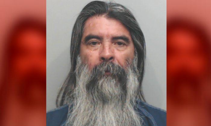 Macario Hernandez in a police mugshot. (Hays County Jail)