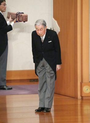 Japan ruler Akihito abdicates
