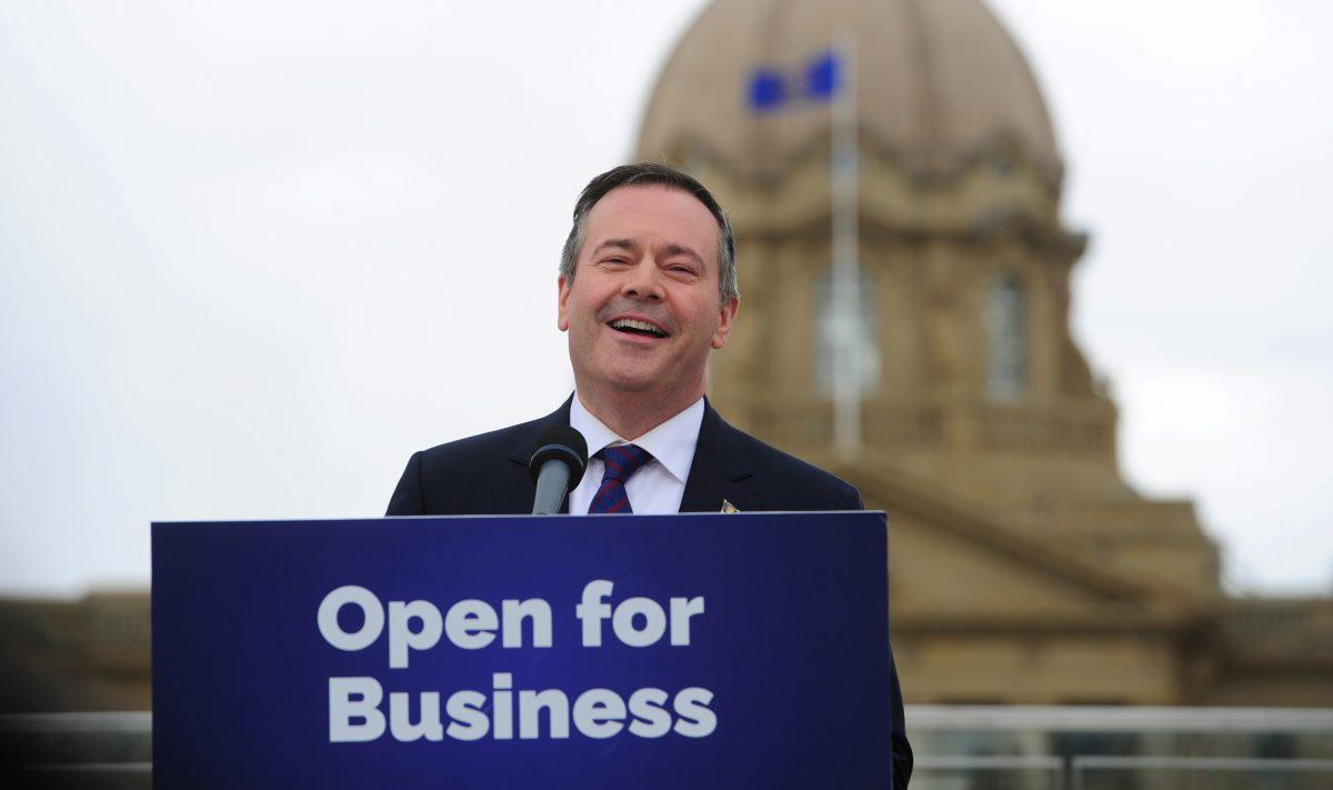 Jason Kenney, Alberta's premier