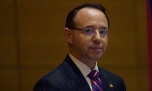 Rod Rosenstein Appears to Rebuke Comey, Raise Concern Over Public Trust in DOJ