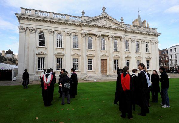 Graduates gather at Cambridge University