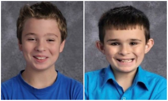 Two missing Maine boys were found safe on April 30, 2019, according to police. (Presque Isle Police Department)