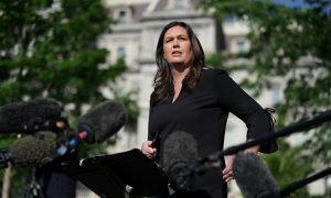 Sarah Sanders Raises $4.8 Million, Beating Arkansas Quarterly Fundraising Record