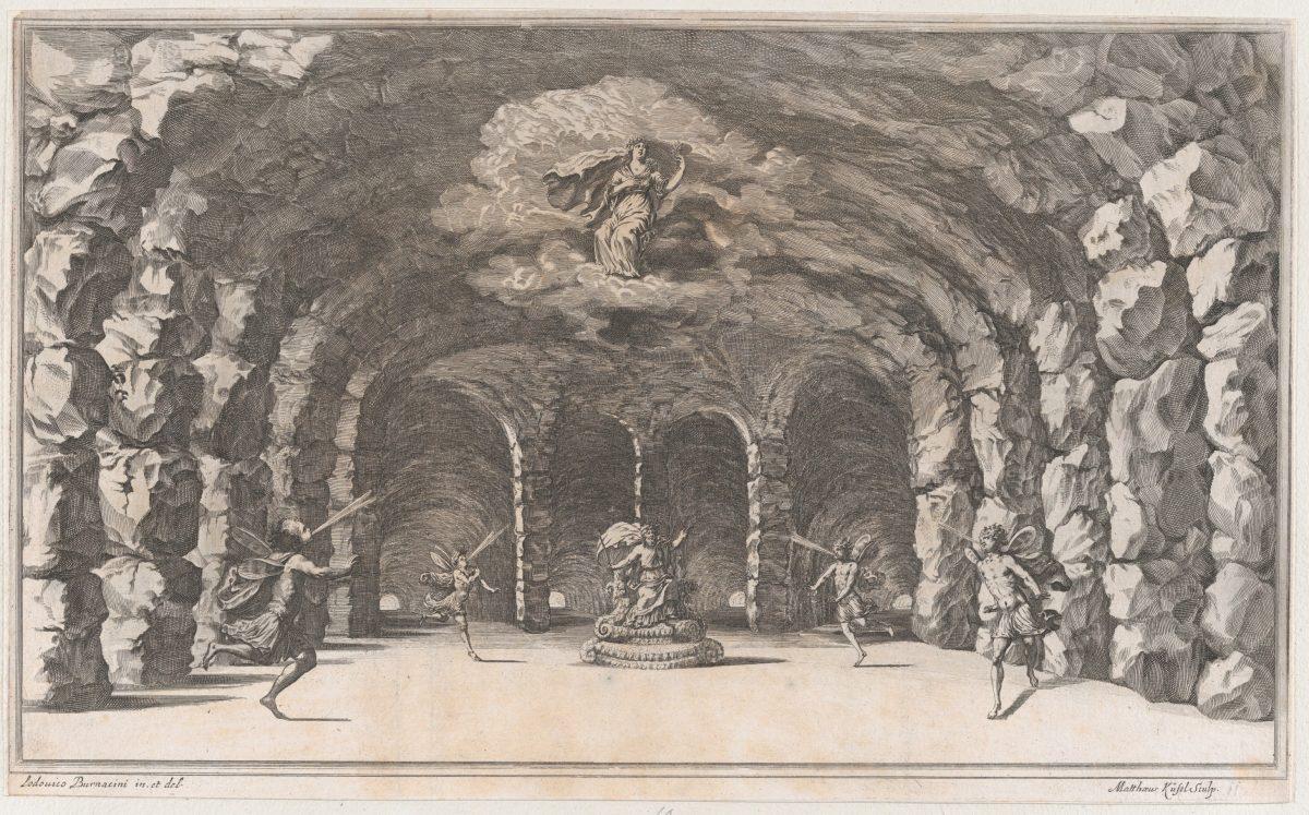 Cavern of Aeolus-set design