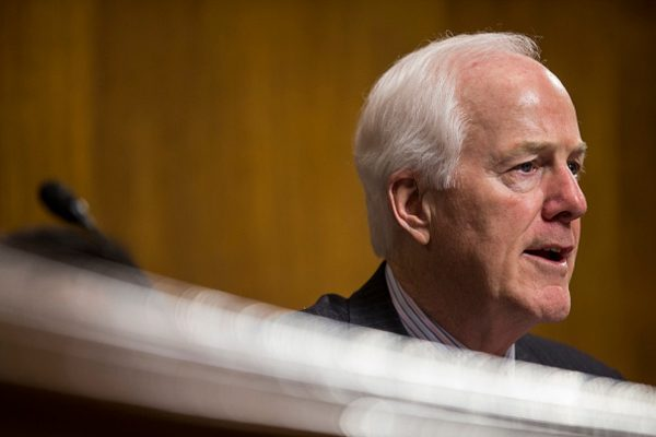 Senate Judiciary Subcommittee on Border Security and Immigration Chairman Sen. John Cornyn (R-TX) speaks