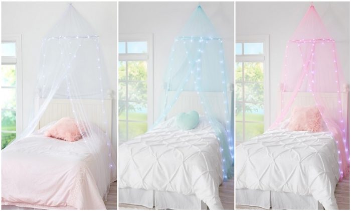 A recall of Justice brand light up bed canopies that present a fire and burn hazard was sent out in Canada and the United States on April 30, 2019. (Health Canada)