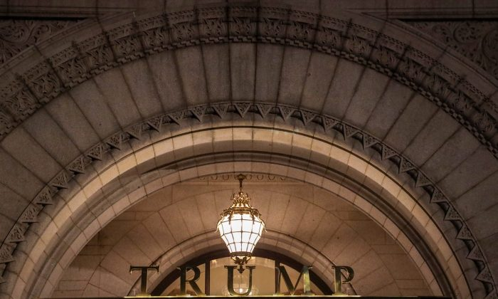 The Trump International Hotel in Washington on March 22, 2019.  (Alex Wroblewski/Getty Images)