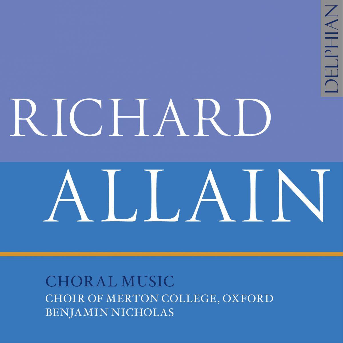 Choral Music by Richard Allain_