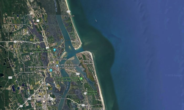 Vilano Beach, Fla. (Screenshot/Google Maps)
