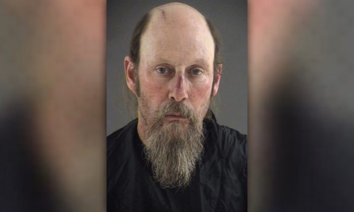 Mark Turner, 56, was arrested because he allegedly shot two people and left another injured after a dispute in Bedford, Va., on April 23, 2019. (Blue Ridge Regional Jail Authority)
