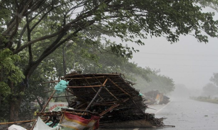 A month after powerful Tropical Cyclone Fani slammed into India's northeastern coastline, the country faces the threat of another strong storm, this time on its west coast (AP Photo)