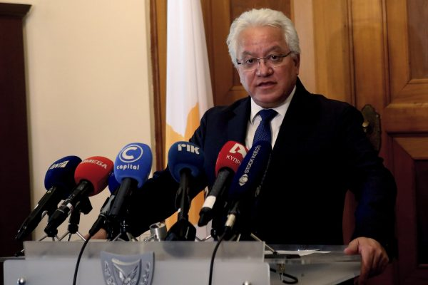 Justice Minister Loanas Nicolaou 1