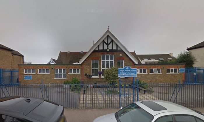 A google street view of the Leigh North Primary in Leigh, Essex in Aug. 2018 (Google Street View)