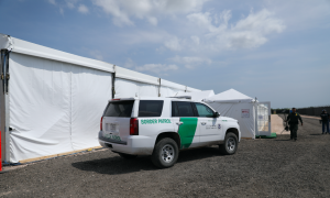 Border Patrol Hopes New 'Tent City' for Illegal Immigrants Is Big Enough