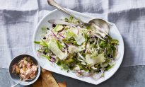 Shaved Fennel Salad With Sweet Peas and Avocado