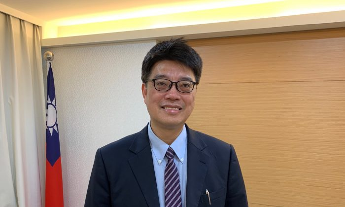 Deputy Minister for Taiwan's Mainland Affairs Council, Chiu Chui-cheng, poses after an interview in Taipei, Taiwan on May 3, 2019. (James Pomfret/Reuters)