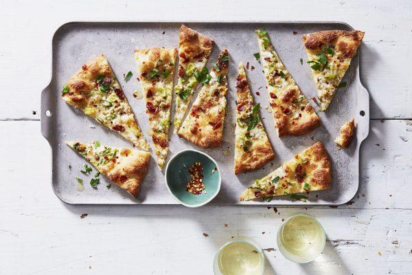 White clam pizza from Piatti