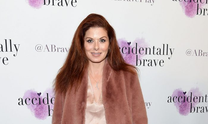 "Debra Messing attends the ""Accidentally Brave"" Opening Night at DR2 Theatre in New York City on March 25, 2019. (Jamie McCarthy/Getty Images)"