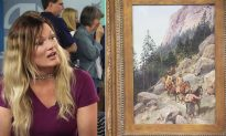 Lady Thinks She Inherited Painting Worth $200. Upon Realizing Its True Value, She's in Tears