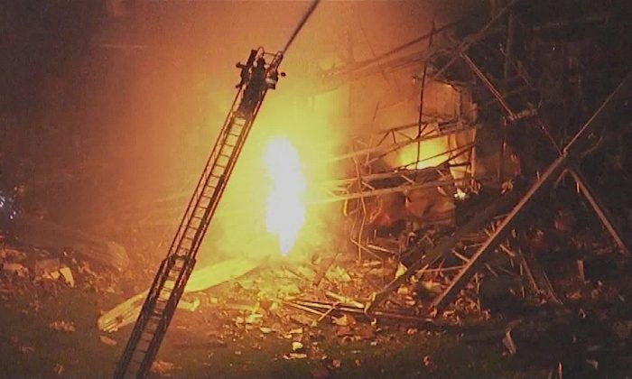 A 'catastrophic explosion' left 4 injured and others unaccounted for at a silicone plant in Ill., on May 3, 2019.