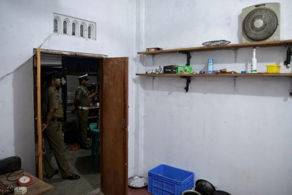 training camp allegedly linked to Islamist extremists in Sri Lanka