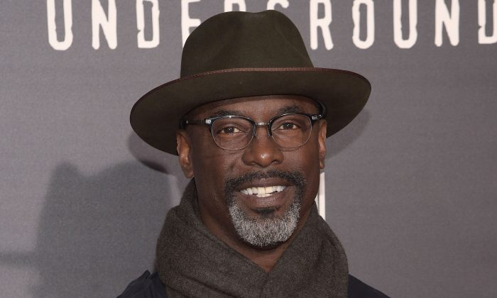 "Isaiah Washington attends the premiere of WGN America's ""Underground"" at The Theatre at The Ace Hotel in Los Angeles on March 2, 2016. (Photo by Jason Kempin/Getty Images)"