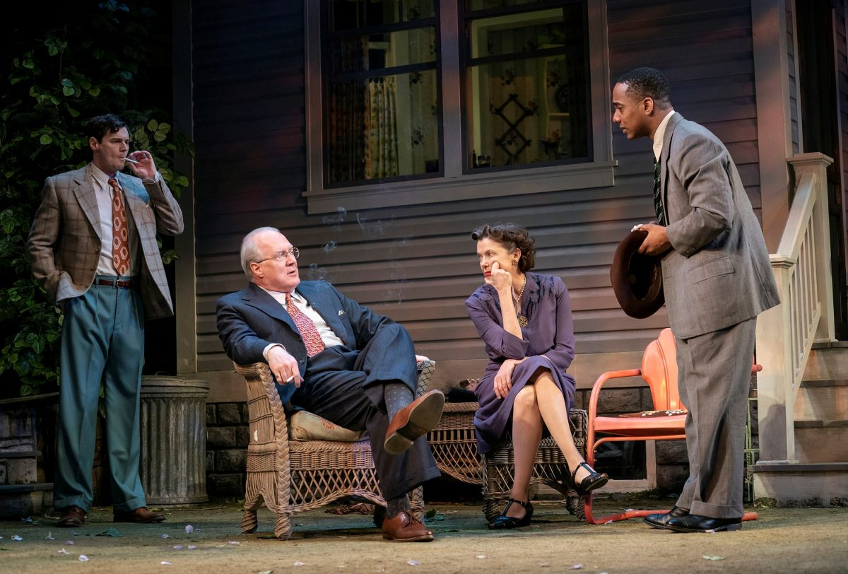 Benjamin Walker, Tracy Letts, Annette Bening and Hampton Fluker in Arthur Miller's ALL MY SONS