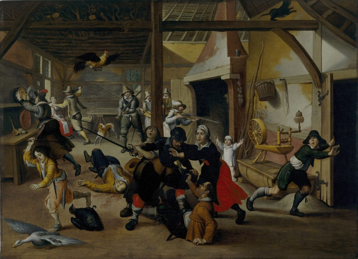 flemish painting of 30 year war