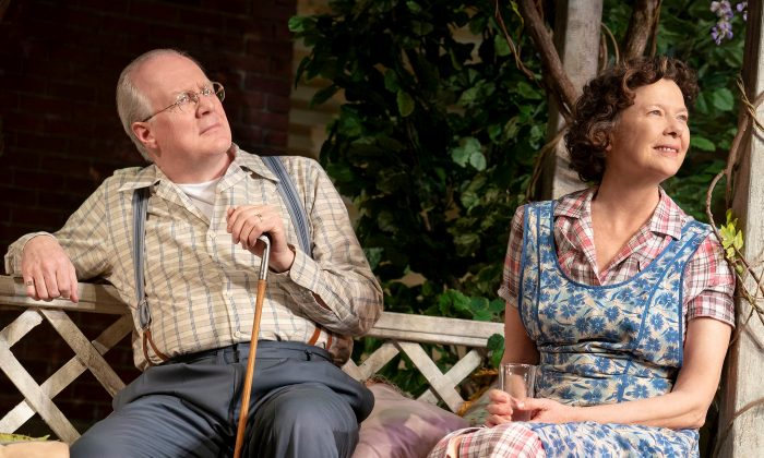 "Tracy Letts and Annette Bening star in ""All My Sons."" (Joan Marcus)"