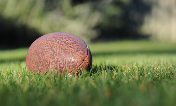 A football. (Ben Hershey/Unsplash)