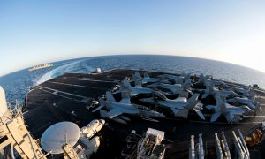 US Deploying Carrier, Bombers to Middle East After Indications Iran Planned Attack on US Forces