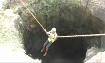 Helpless Deer Rescued From Drowning in 50-foot Well in Southern India