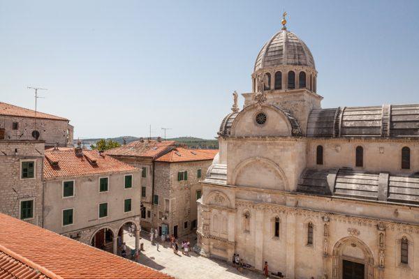 st james cathedral in sibenik croatia