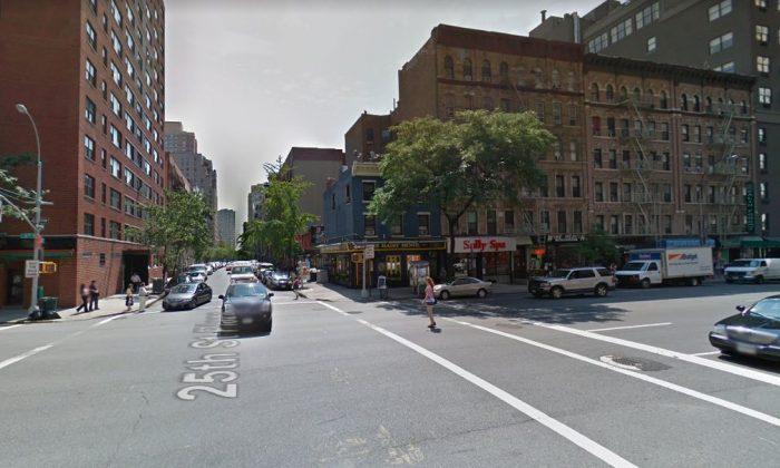 E. 25th St. near Third Ave. in Manhattan (Google Street View)