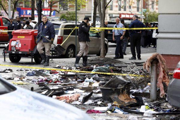 Harlem apartment fire New York 3
