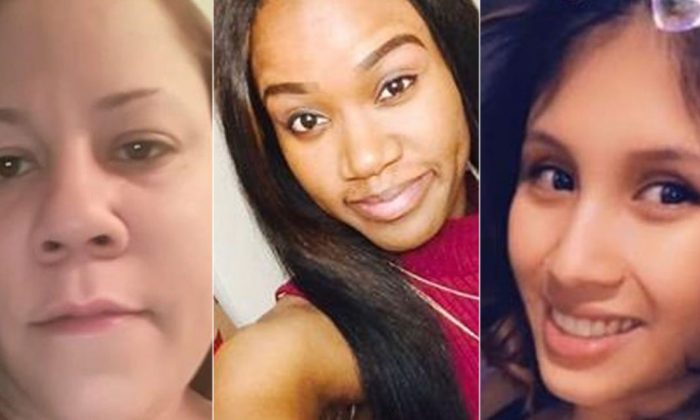 Chaunti Bryla, Kierra Coles, Marlen Ochoa-Uriostegui are missing in Chicago. (Chicago Police Department)