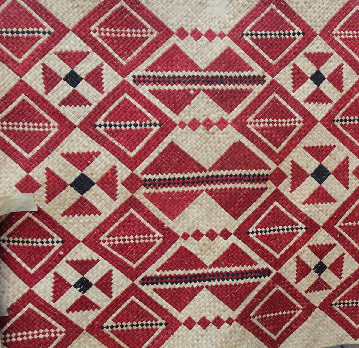 Handmade traditional mat