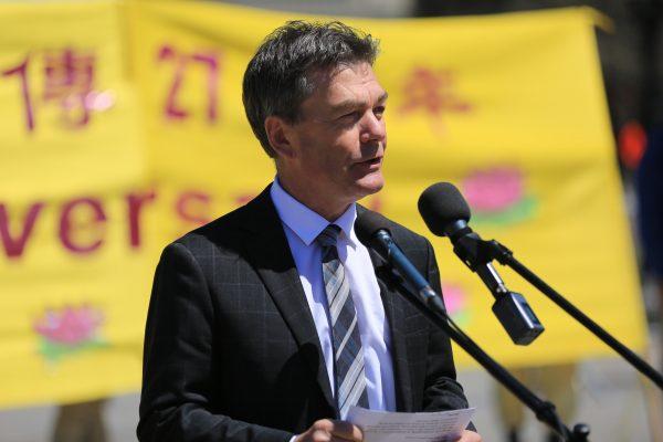 Conservative MP David Anderson