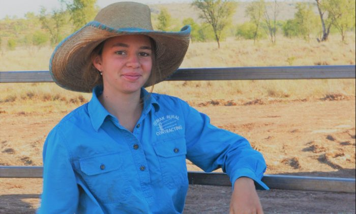 Northern Territory teenager Amy 'Dolly' Everett who took her own life to escape online bullying. (AAP Image/Victoria Racing Club Limited)