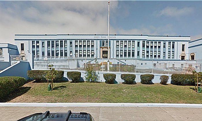 Glen Park School, San Francisco, California (Google Street View AUG 2014)