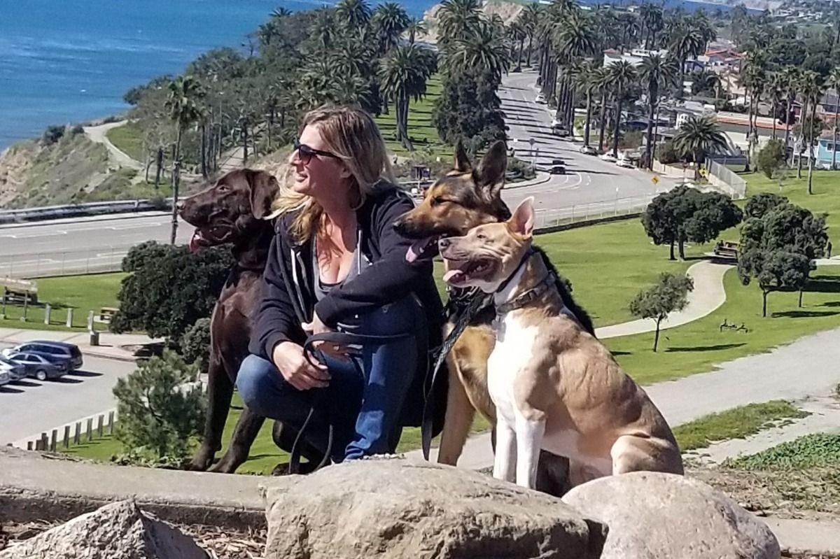 Jessica Bingaman, a popular dog walker 4