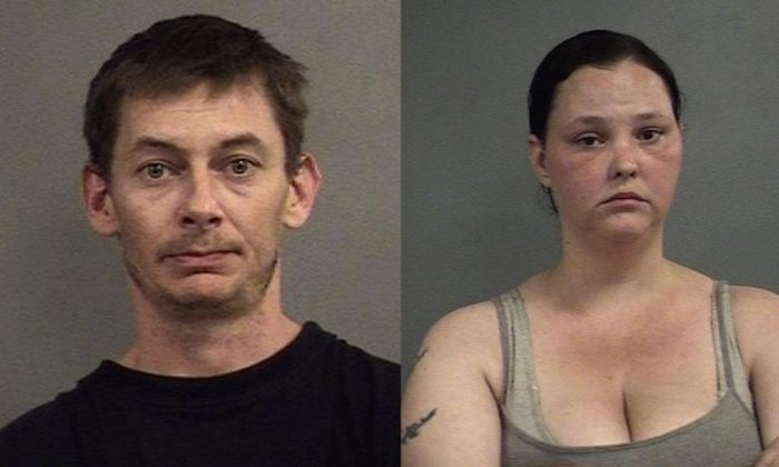 Sean Landrey and Jessica Downs were arrested in Louisville, Kentucky, on May 9, 2019. (Louisville Metro Corrections)