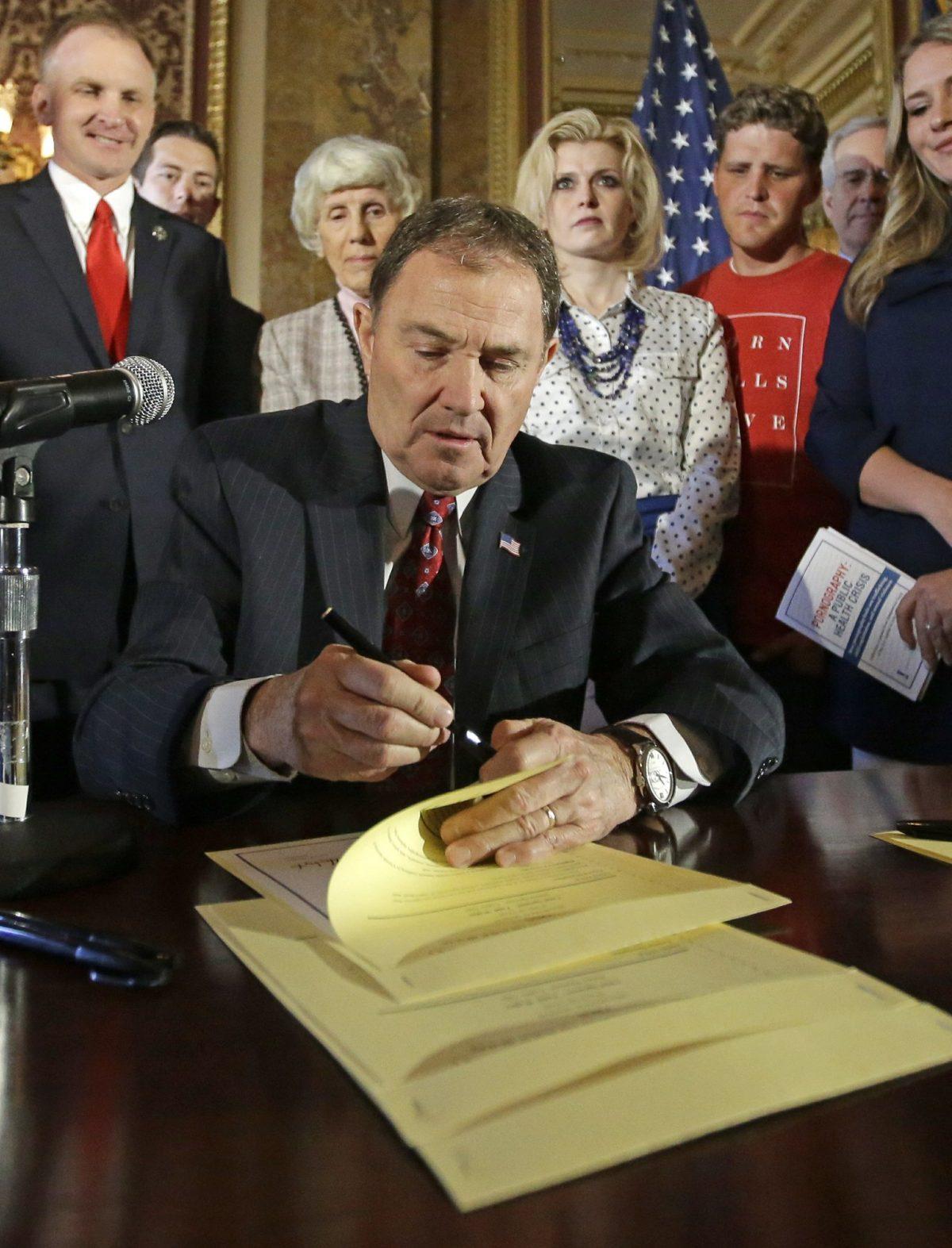 Utah Gov. Gary Herbert