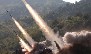 North Korea Fires Ballistic Missiles Into Waters Between Japan and Korean Peninsula