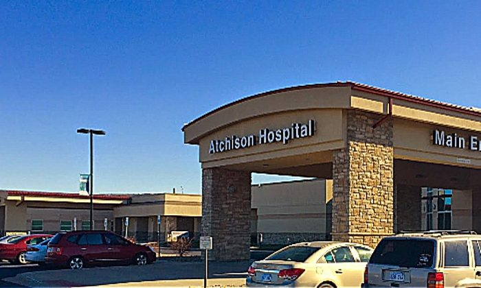 Atchison Hospital in Kansas where a victim of rape was treated. (Screenshot/Google Street View)